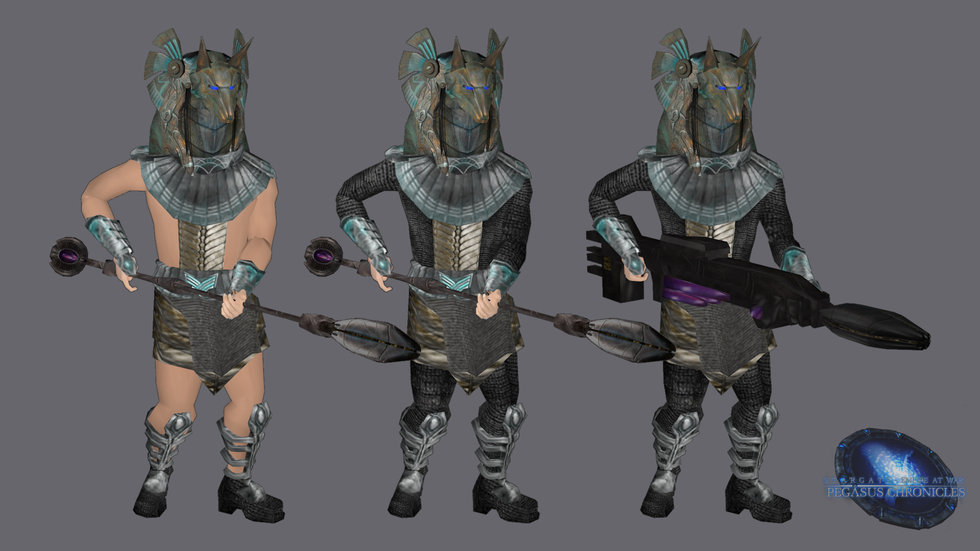 Anubis Guard Render