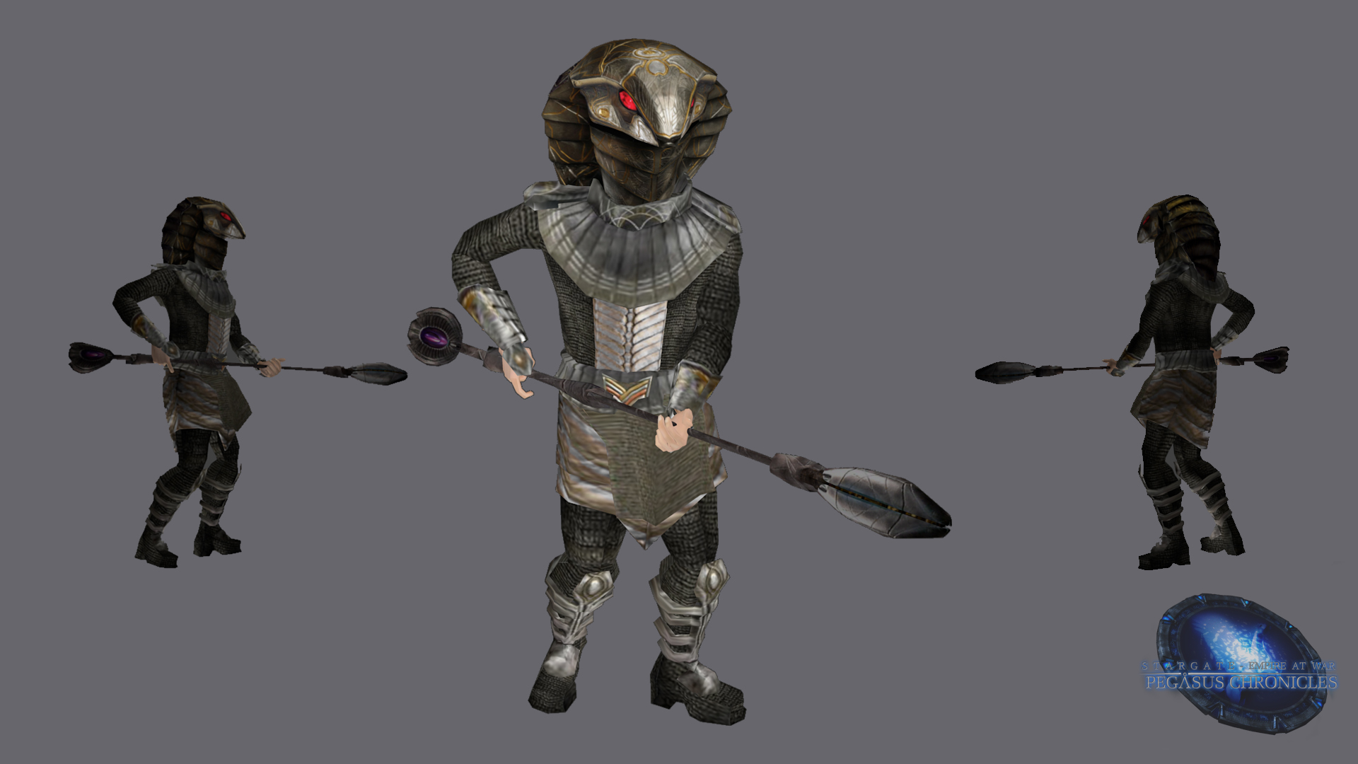 Serpent Guard Render