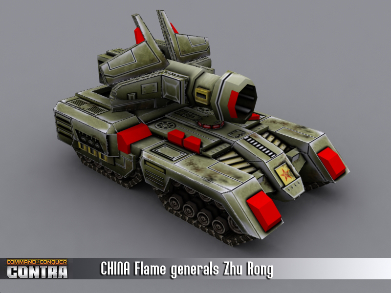 China Tank general got new structure.