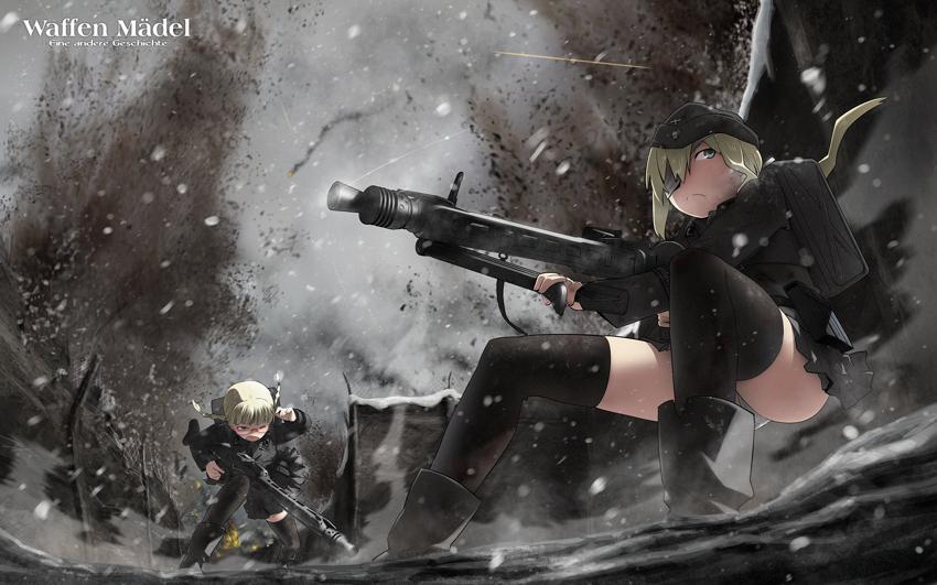 WW2 anime wallpaper image - Delta33