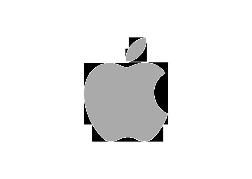 Apple logo grey 880x625