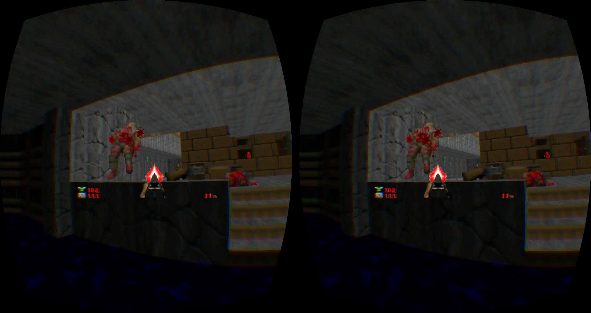Doom 2 Oculus Rift DK2 2