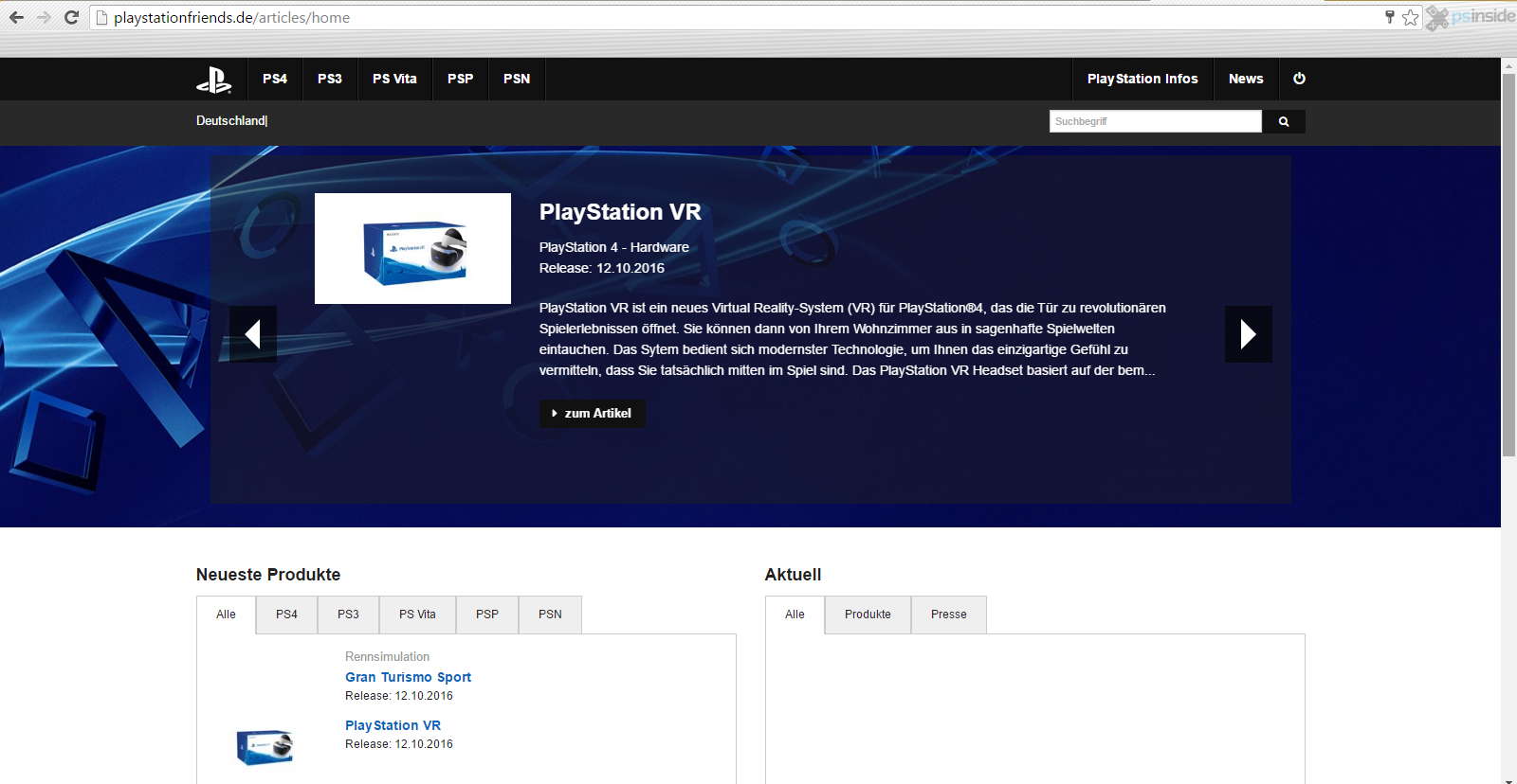 Report: PlayStation VR Release Date Leaked news - Mod DB