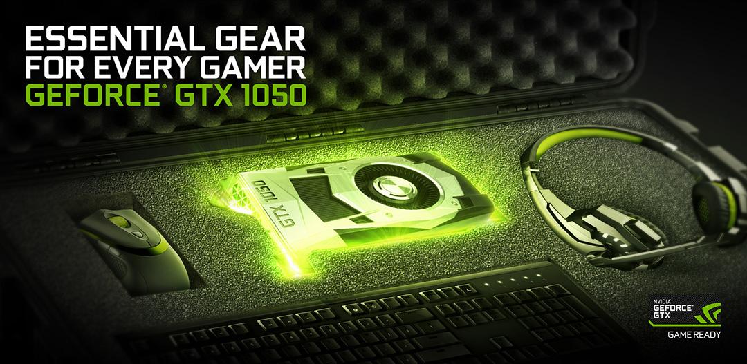 NVIDIA GTX 1050 Essential Gear E