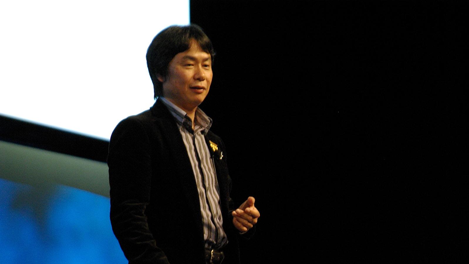 Shigeru Miyamoto Nintendo vincen