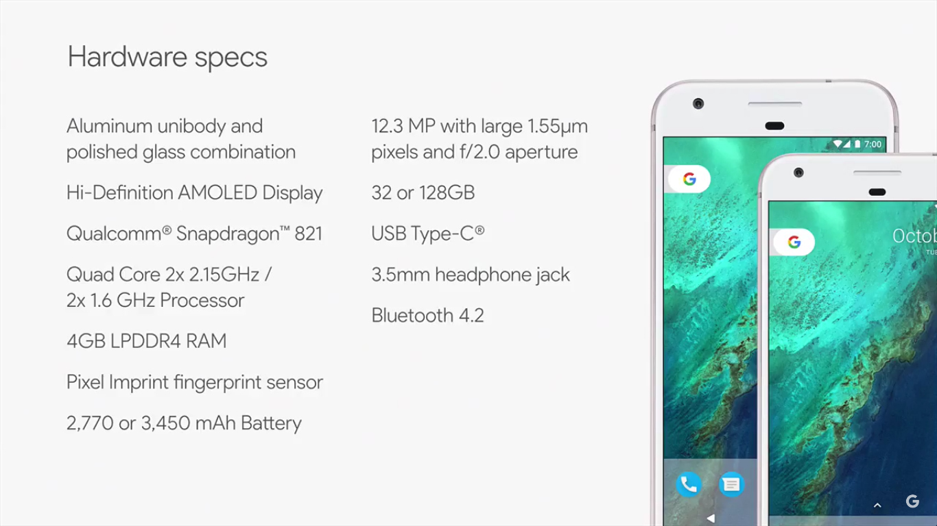 pixel google phone