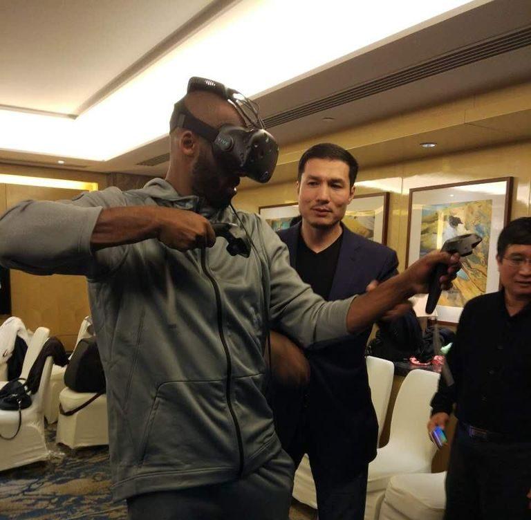 Kobe Bryant HTC Vive Wireless