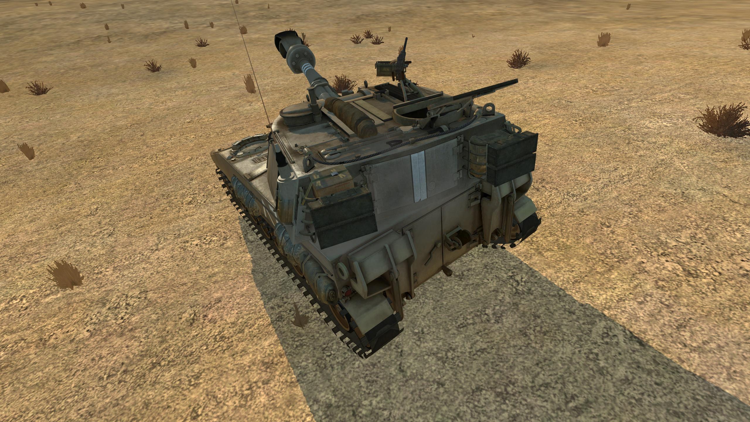 M-109 israel ingame 3