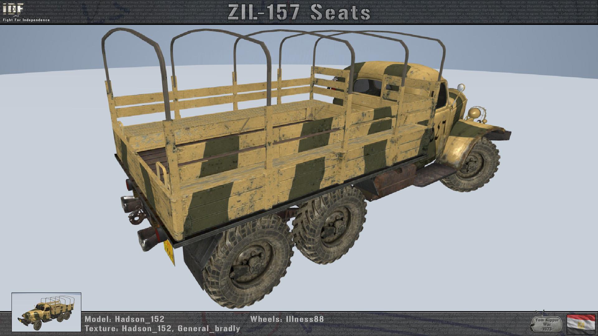 ZIL 157 Seats EG 73