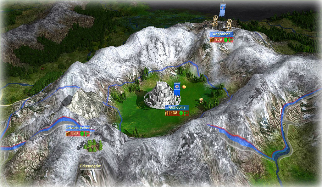 Gondolin Preview News War Of The Silmarils Mod For