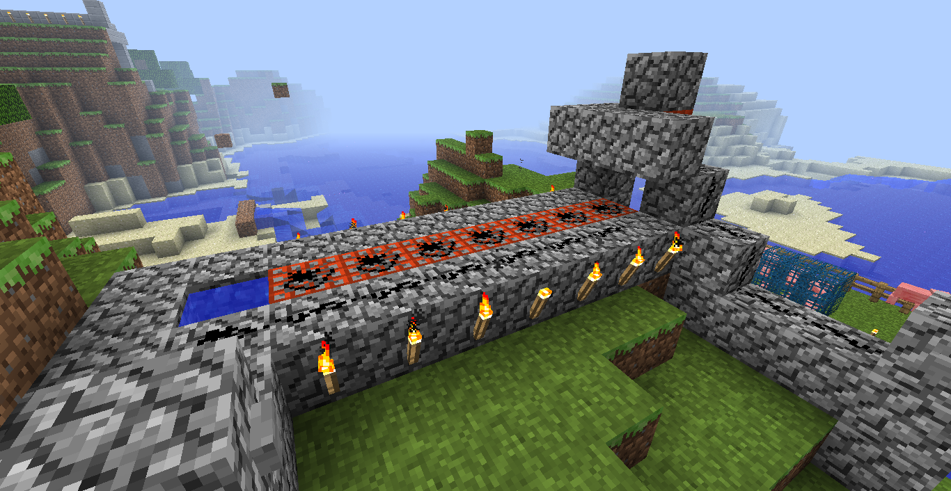 how to make a tnt cannon in minecraft ps4