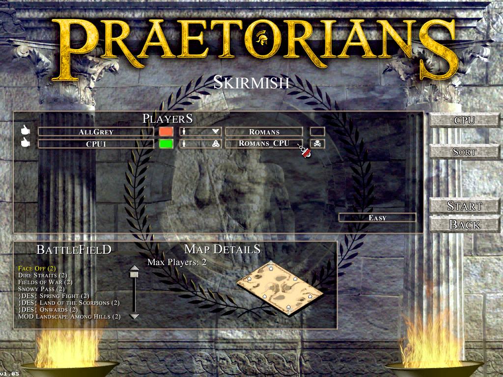 Nations for CPU in Praetorians Mods Complex 2 8 0 news - Mod DB
