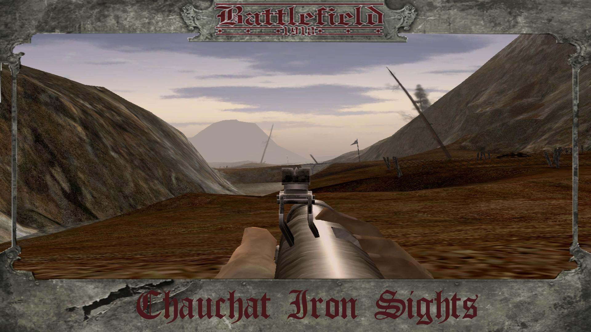 Chauchat Iron Sights