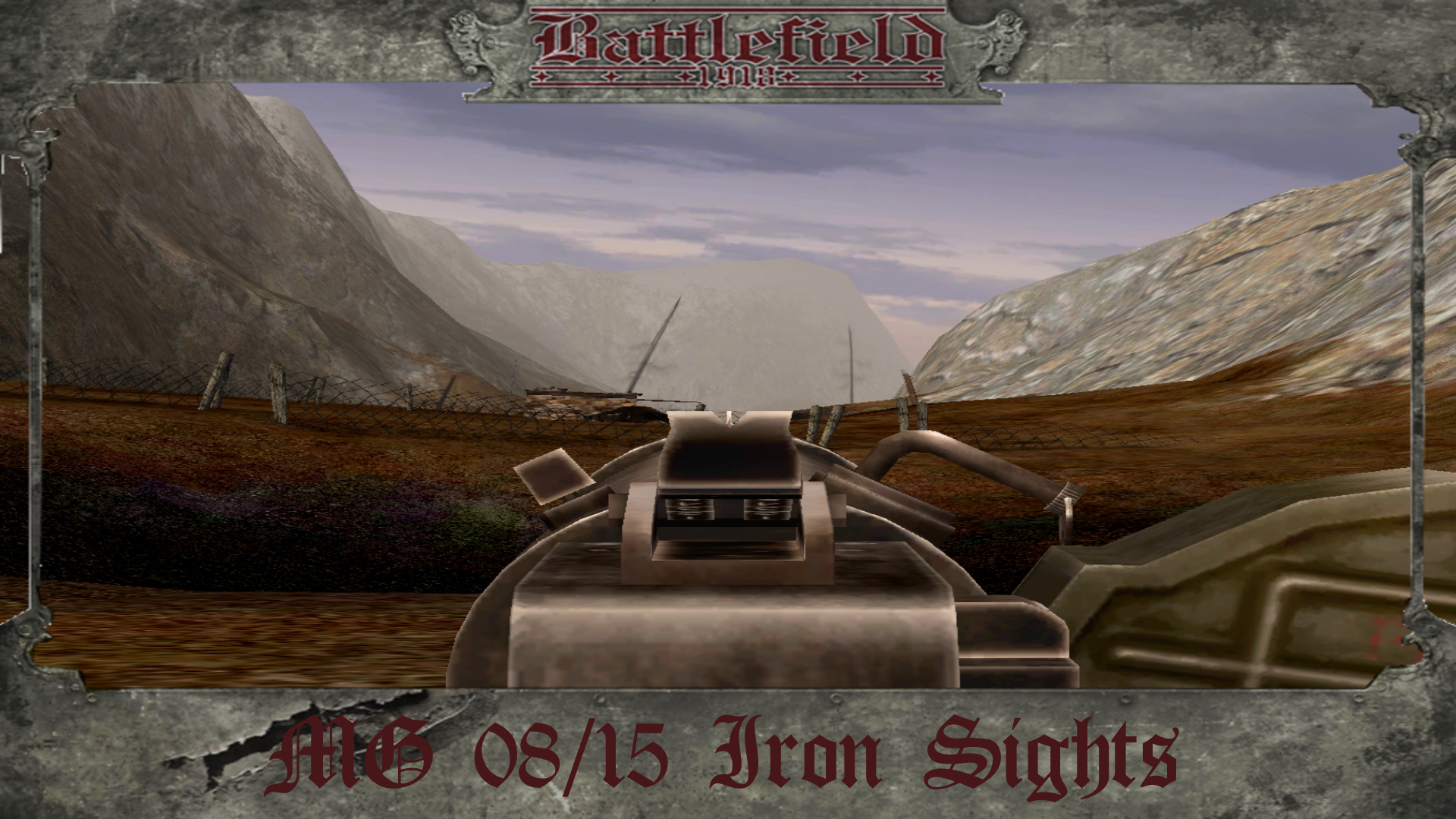 MG 08/15 Iron Sights