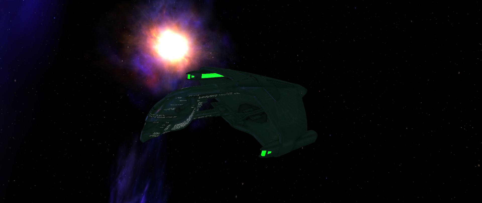 Romulan D'deridex class Warbird