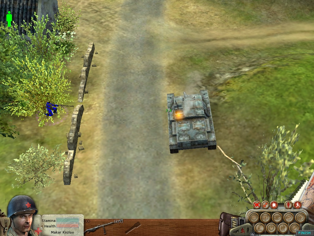 Helpless Stug3 with