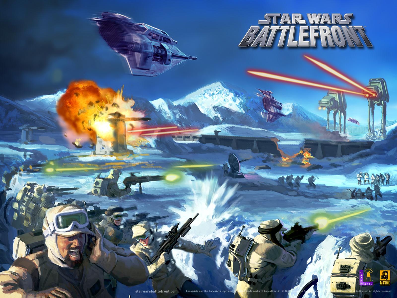 Star Wars Battlefront 1 скачать бесплатно торрент.