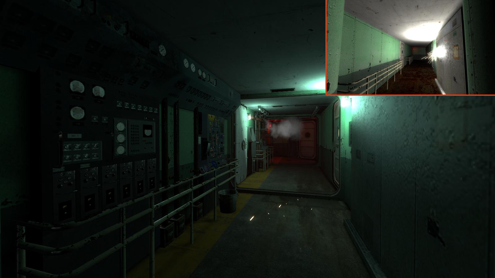 steel corridors
