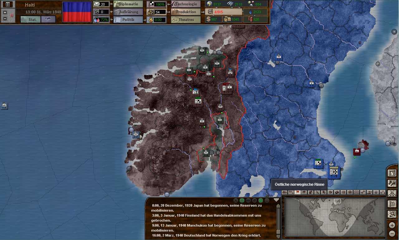 Norway 2way invasion
