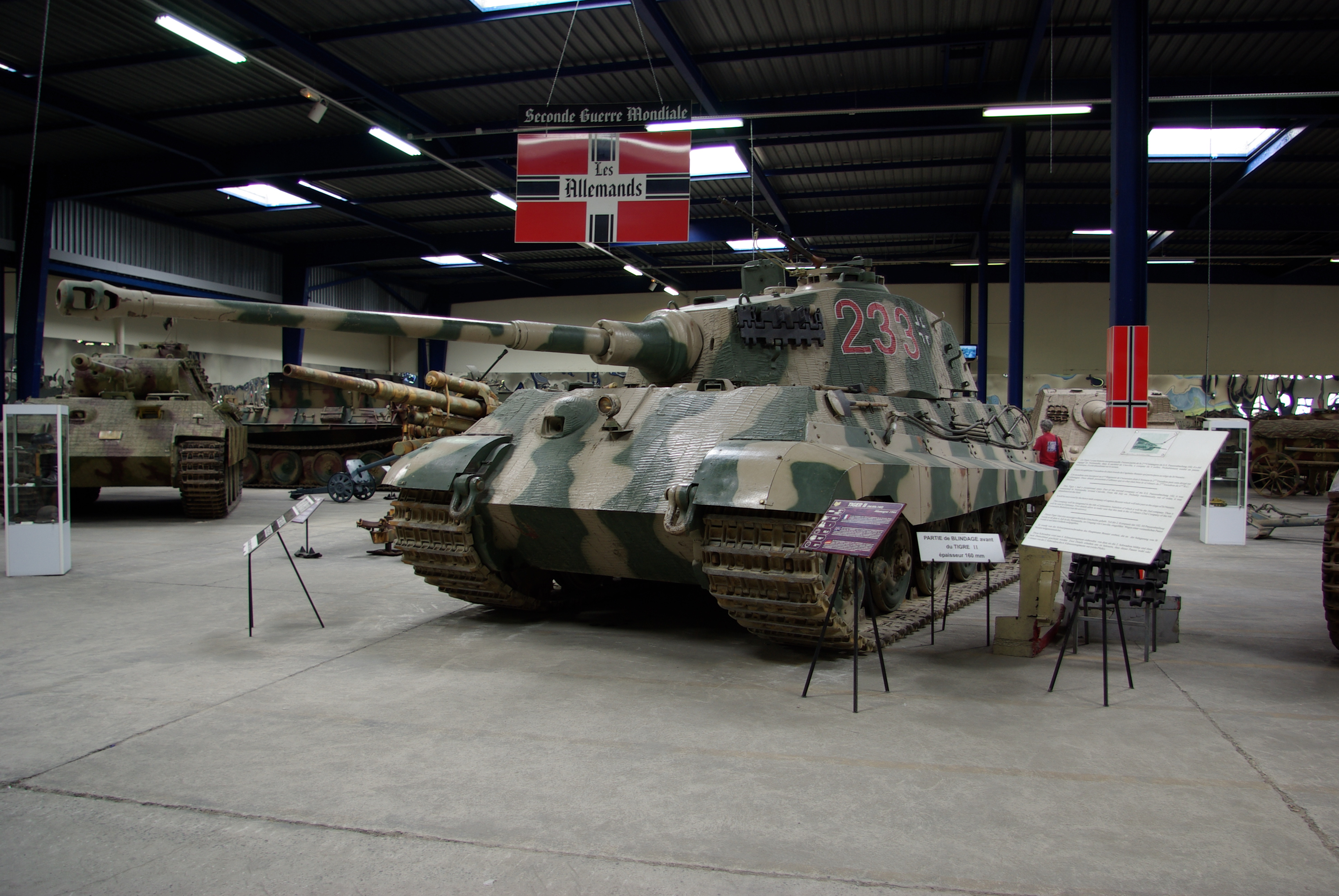 Panzer VI Tiger II Muse des Bl