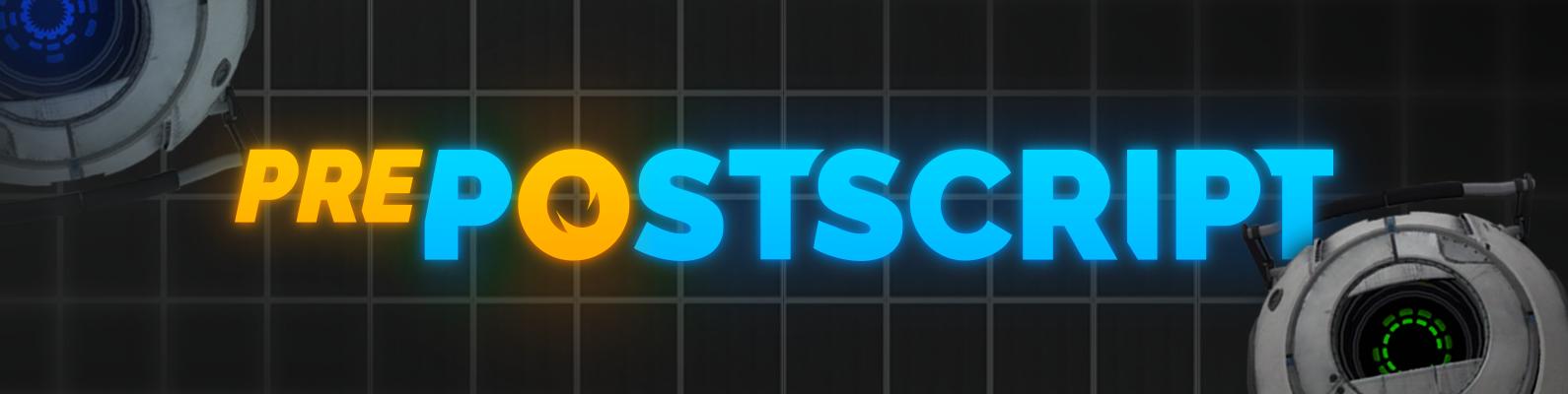 prePostscript poster