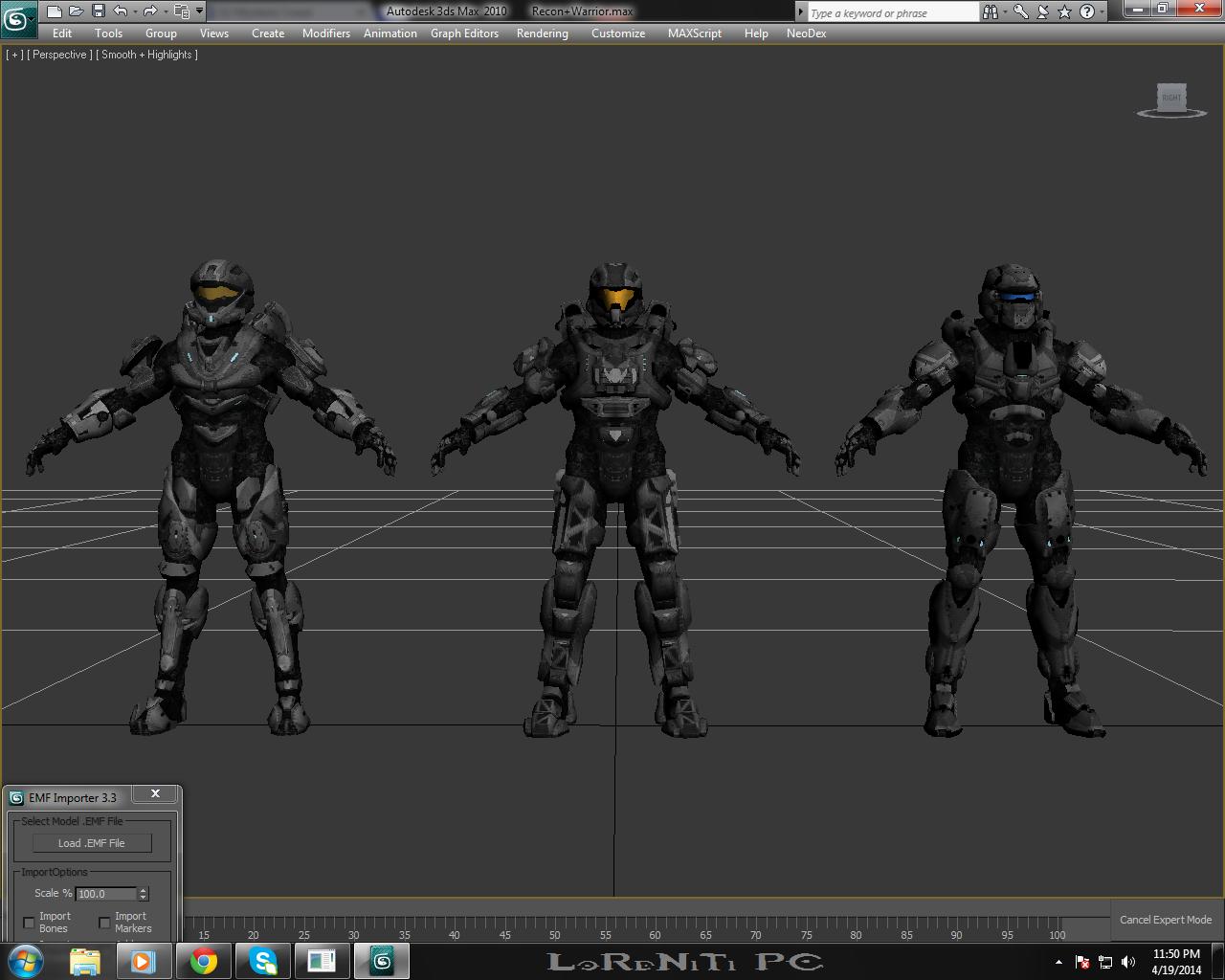 LoRdNiTi's Halo 4 Spartan 3D models image - LoRd-NiTi-619 - Mod DB