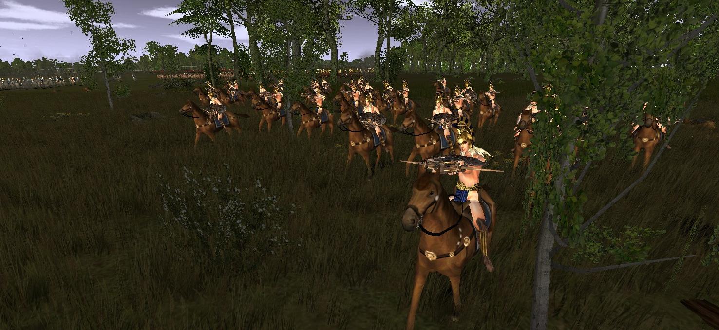 Libyan Amazon Ballista Cavalry