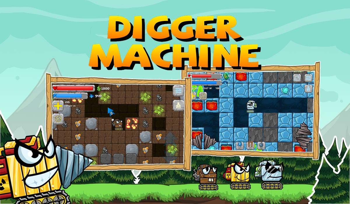 digger machine new worlds