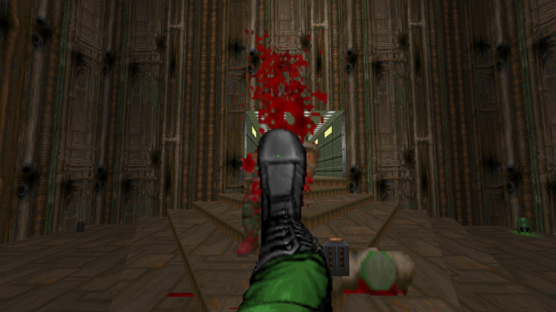 Enhanced Fist alt. attack: kick