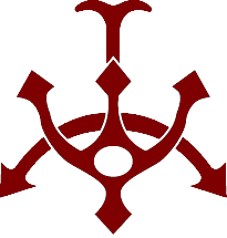 Emblem hutt trident