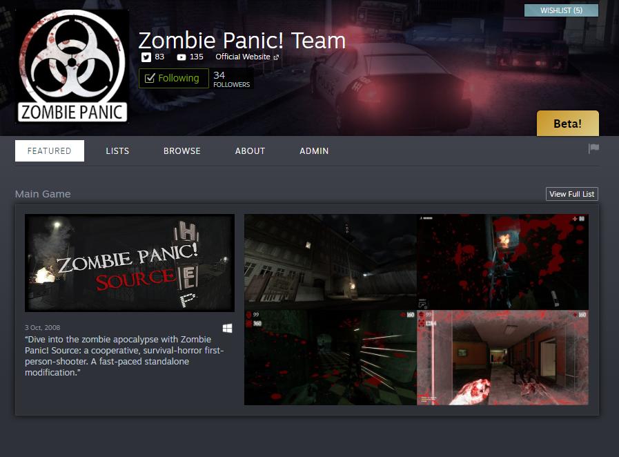Developer Homepage