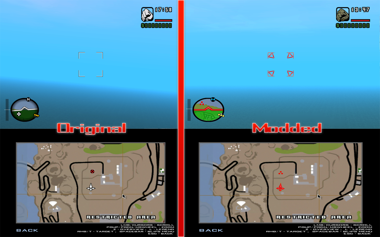 GTA SA New Predator Style HUD image - PredaThor - Mod DB