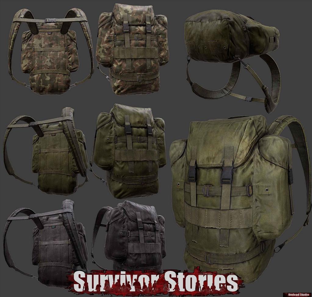 artwork backpack