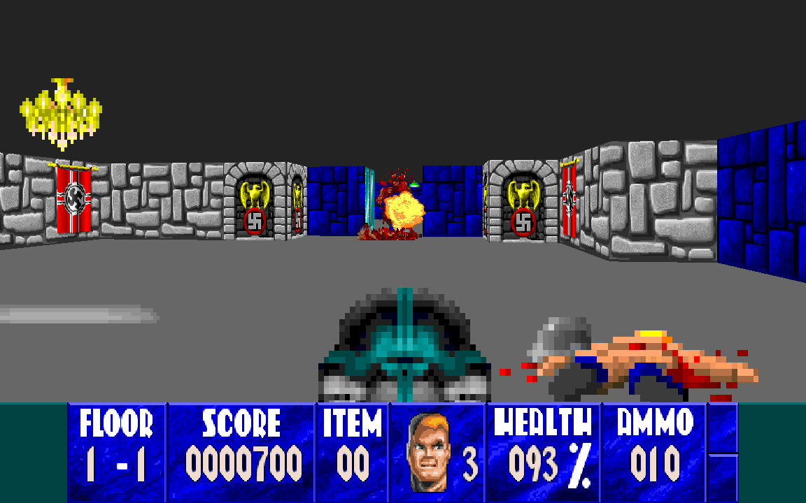 Wolfenstein 3D Windows, DOS game