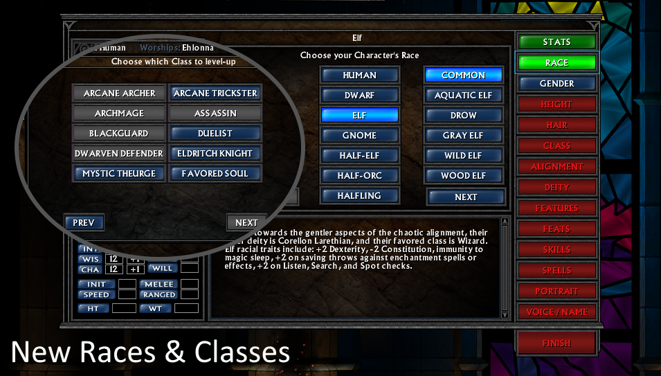 New Races and Classes 1