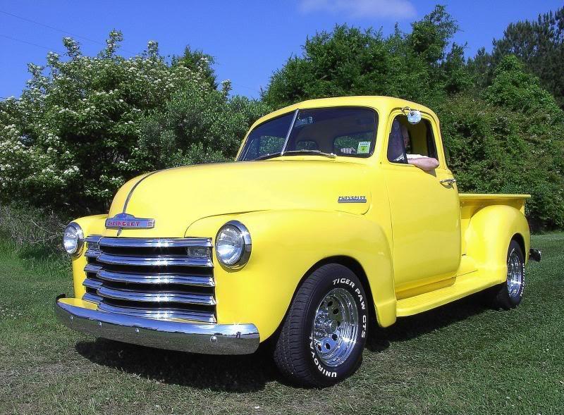 1950 yellow truck 276151 9e14eee