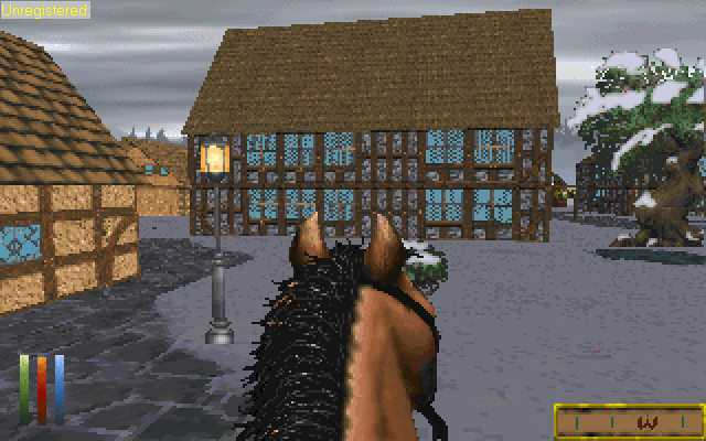 Daggerfall horse