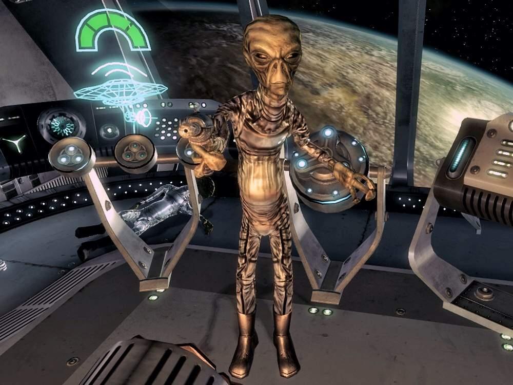 Fallout 3   Alien Starship Beta
