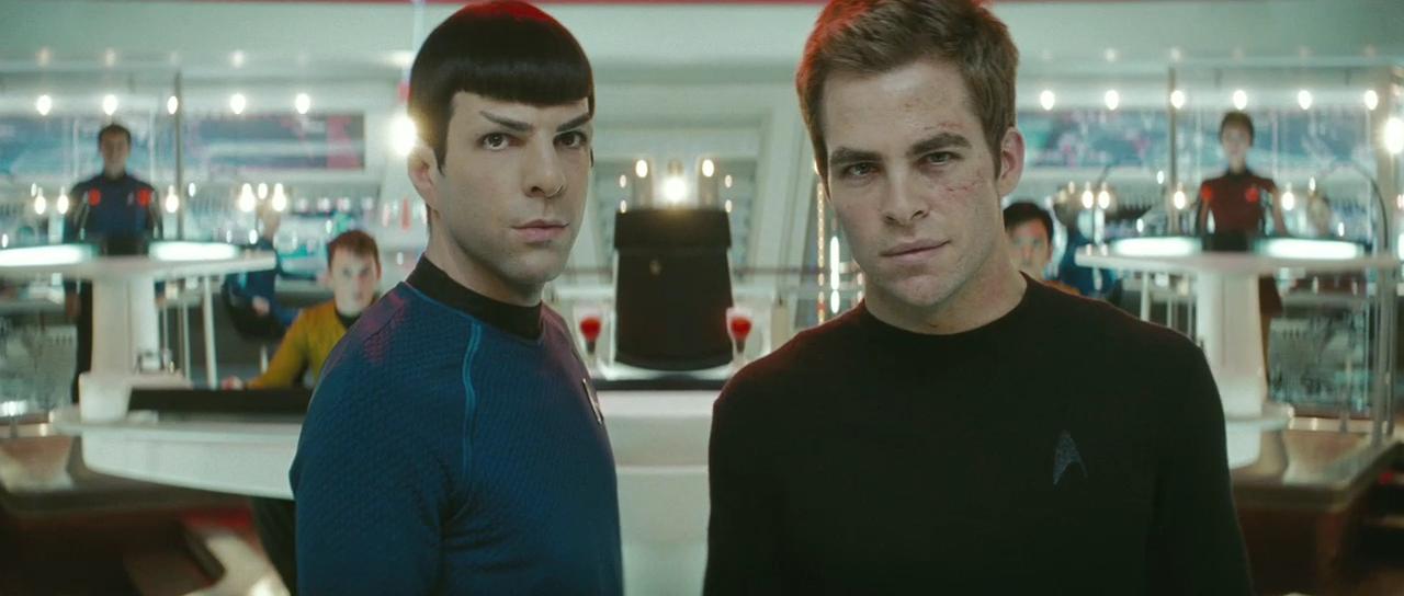 star trek 2009 spock and kirk1