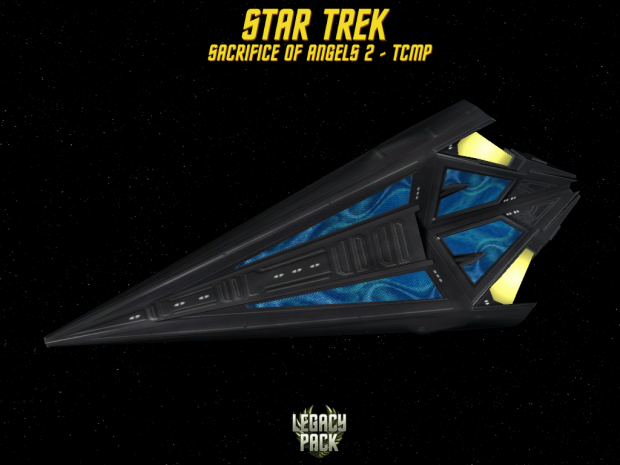 star trek Tholian Cruiser