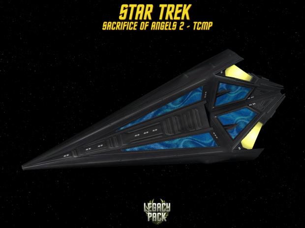 star trek Tholian Cruiser