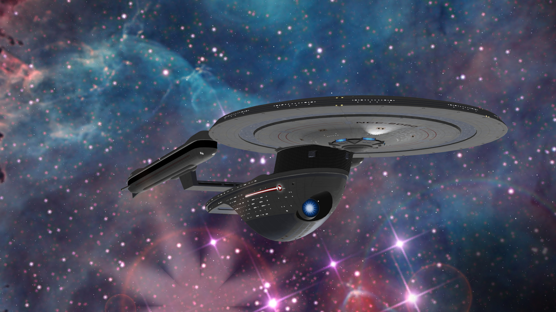 uss excelsior class by vonfrank4
