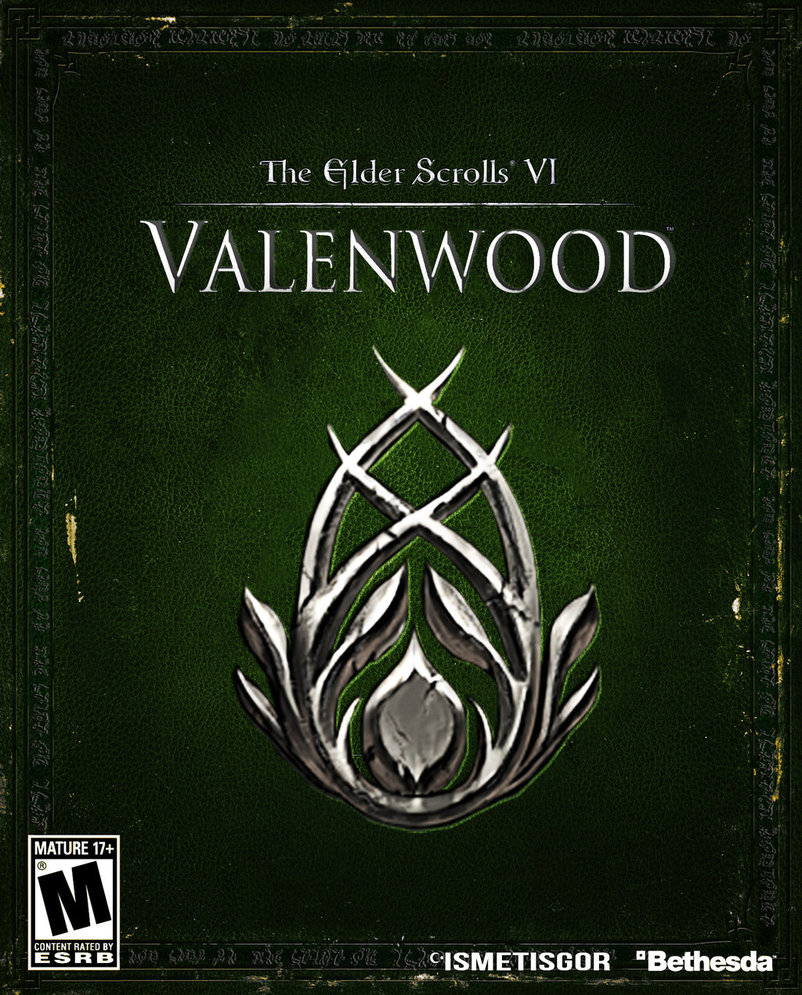 valenwood box art by ismetisgor