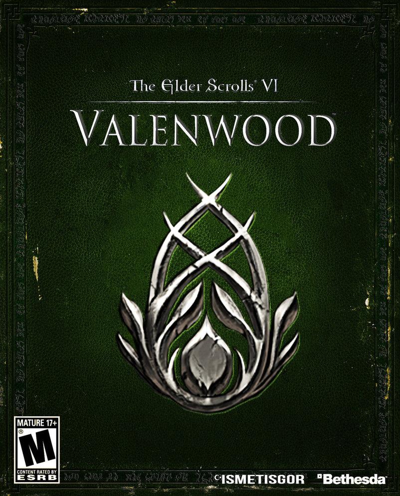 valenwood box art by ismetisgor