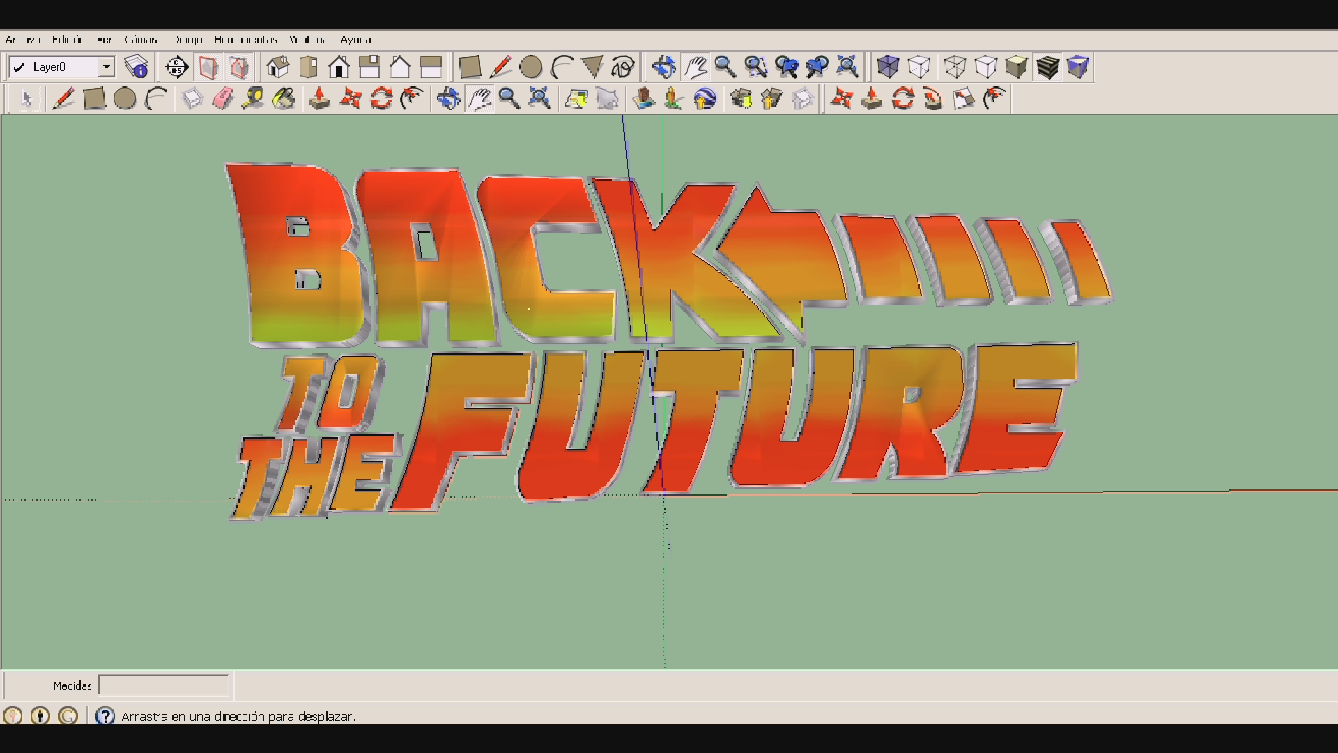 Back To The Future Font Image