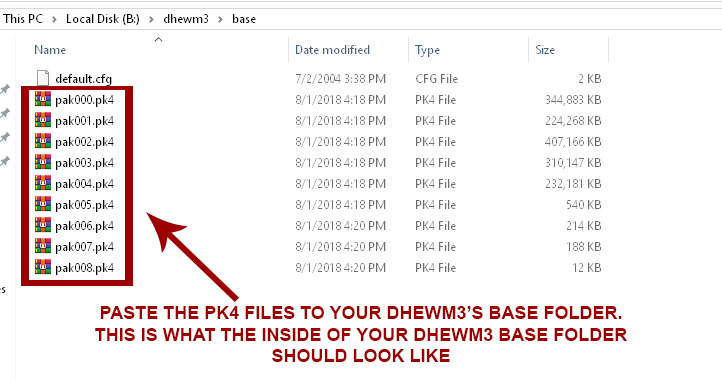 dhewm3 directory