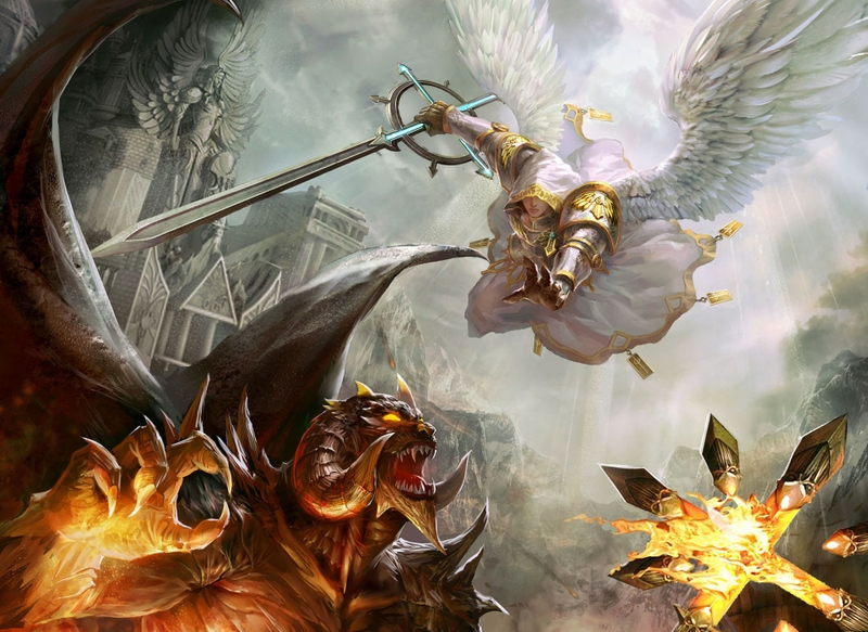 Angels vs Demons in Heroes might and magic image - FIN7 - Mod DB