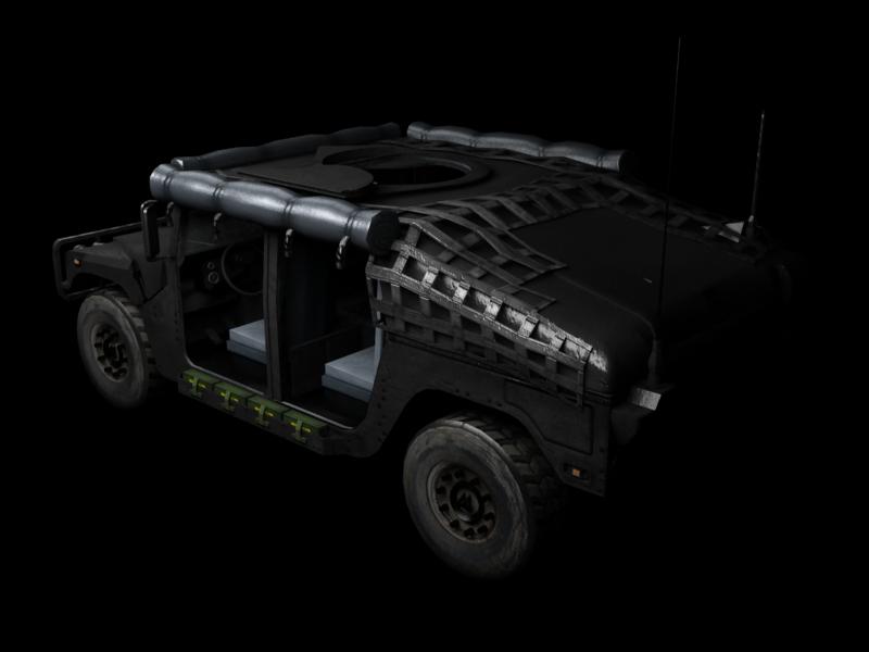 Humvee skin 3 back image - Cazaf - Mod DB