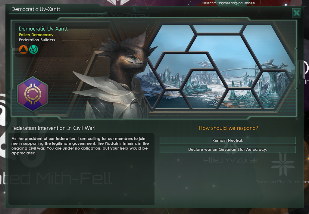 Federation In Civil War
