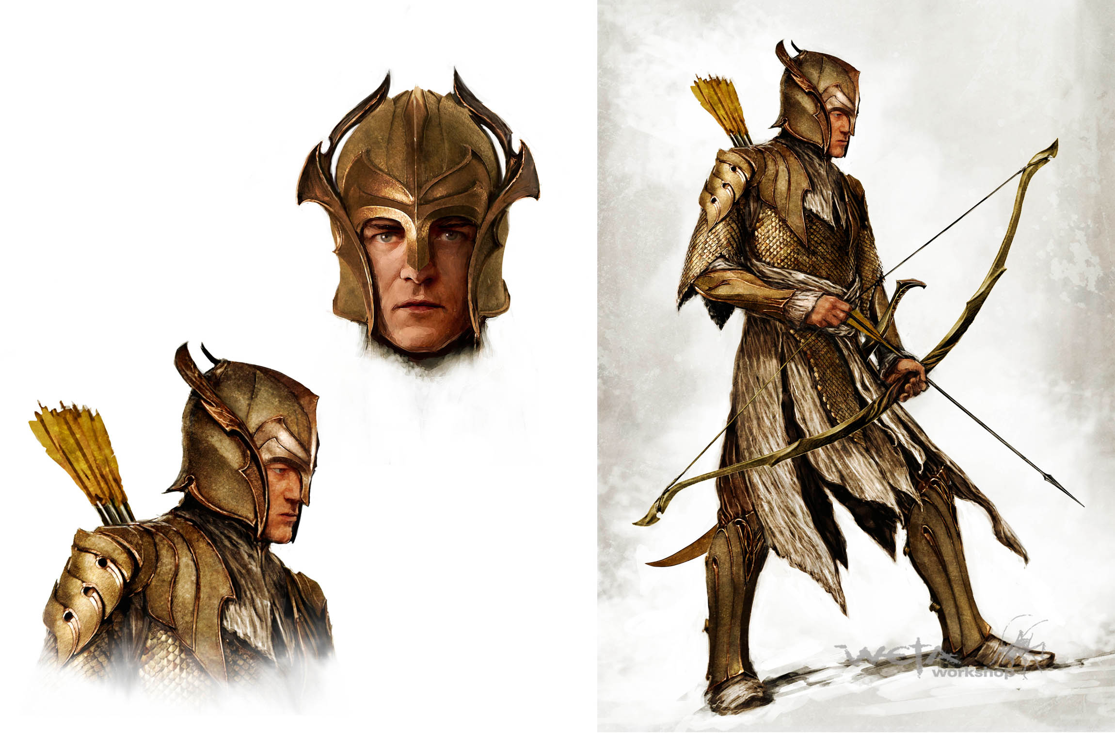 Mirkwood Archer Concept image - LordDainOfIronHills - Mod DB